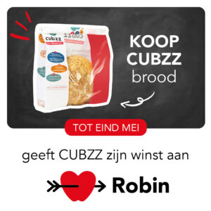 Koop CUBZZ Brood & steun Stichting Robin
