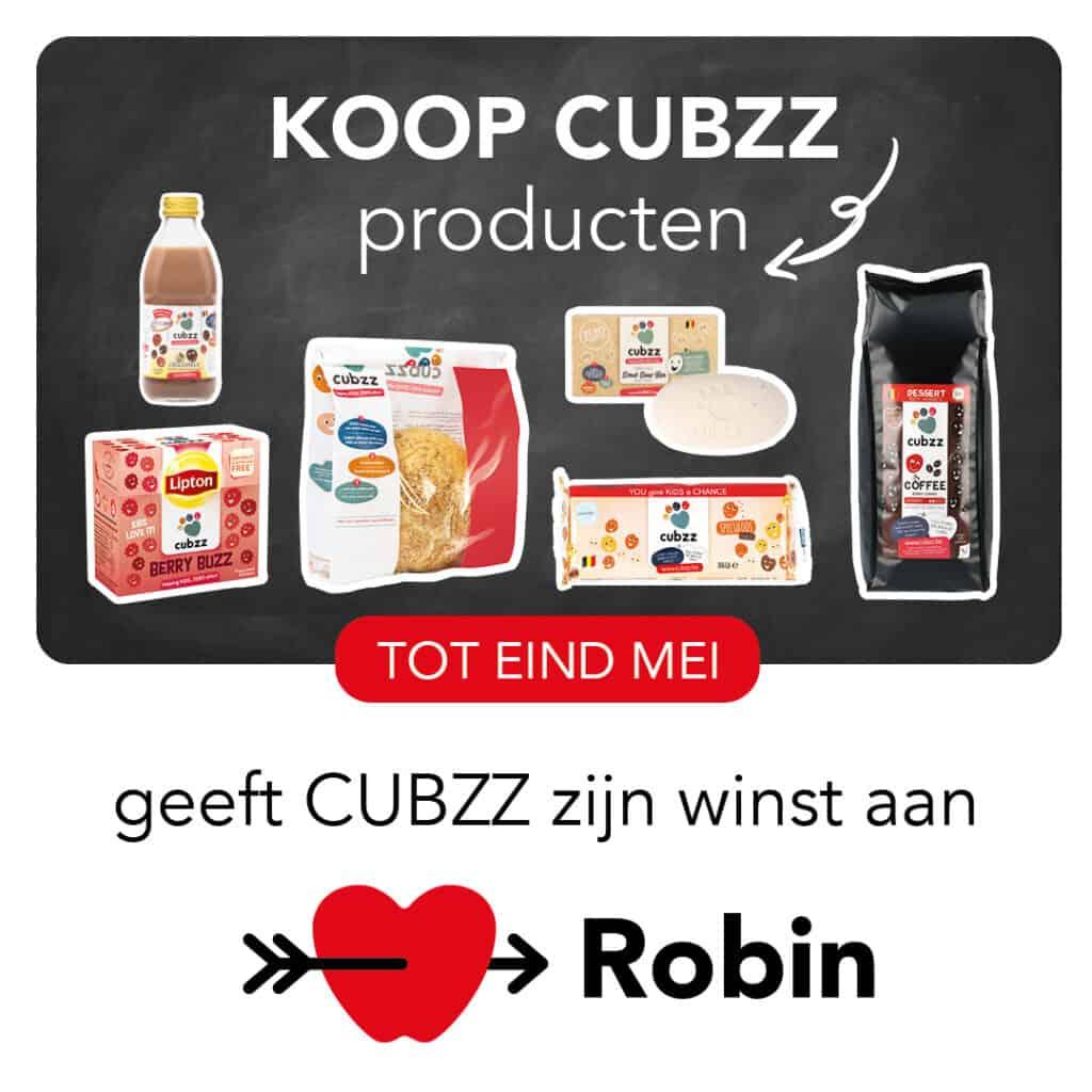 Koop CUBZZ en steun Stichting Robin